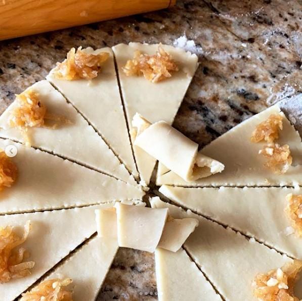elmalı pasta yapılışı