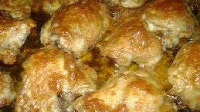 Fırında Kaşarlı Tavuk