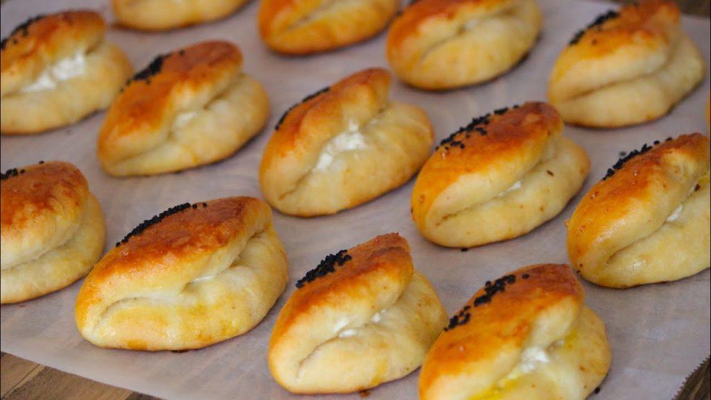 Mayasız Peynirli Poğaça