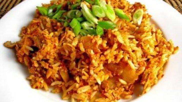 Kimchi Pilavı