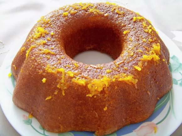Çikolatalı Portakallı Kek