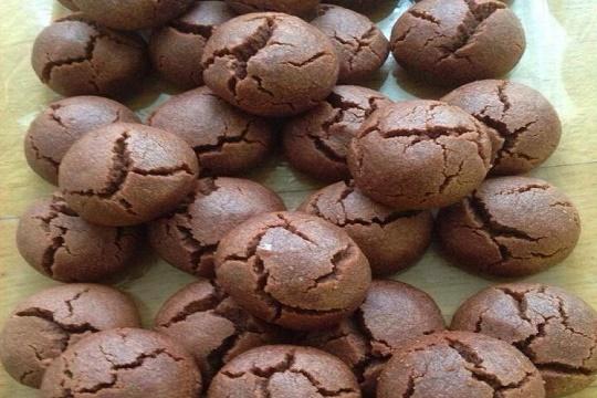 Kakaolu Islak Kurabiye