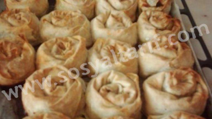 Haşhaşlı Gül Böreği