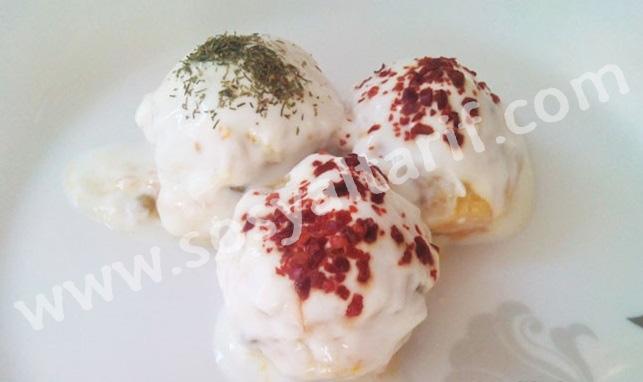 Yoğurtlu Patates Topları