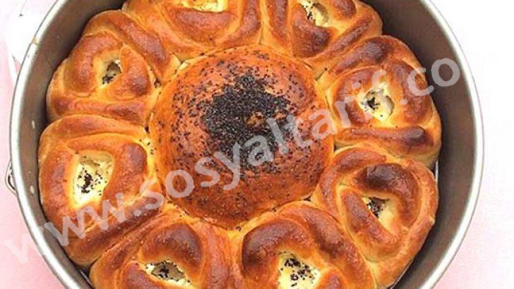 Gül Poğaçalı Ekmek