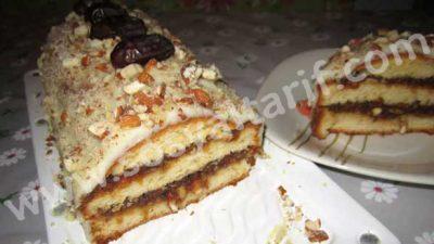 Hurmalı Pasta Tarifi