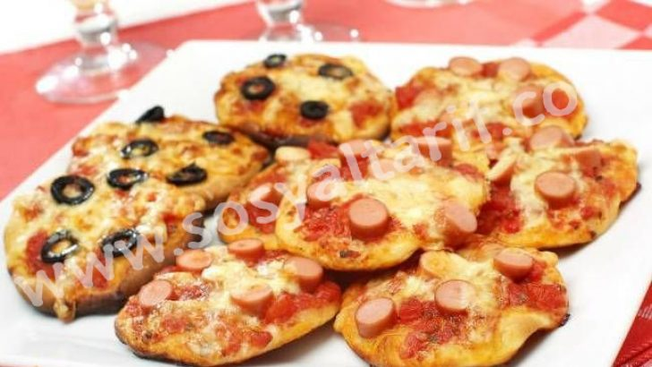 Atıştırmalık Pizzalar