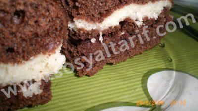 Çikolatalı Sürpriz Kek Tarifi