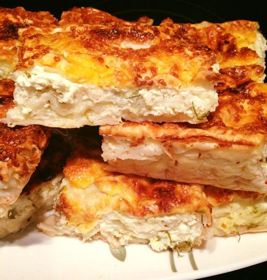 Dereotlu Peynirli Börek