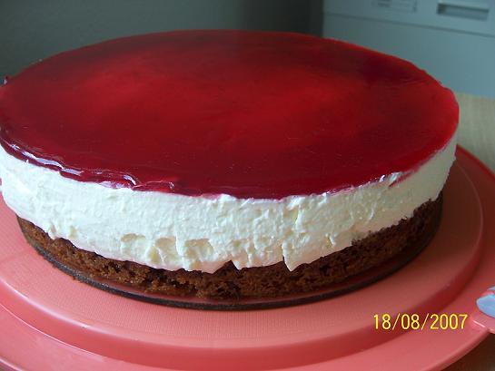 Kırmızı Şelale Pasta