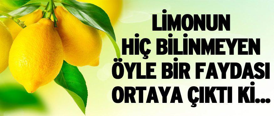 Limonun İnanılmaz Faydaları