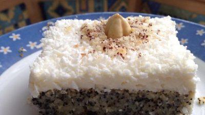 Haşhaşlı Islak Kek