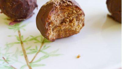Kahveli Çikolata Topları