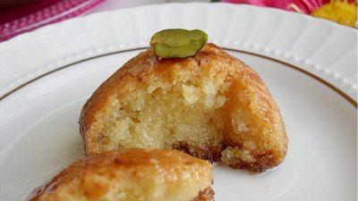 Peynirli Şekerpare Tarifi