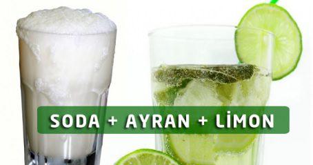 Soda Ayran Limon Kürü