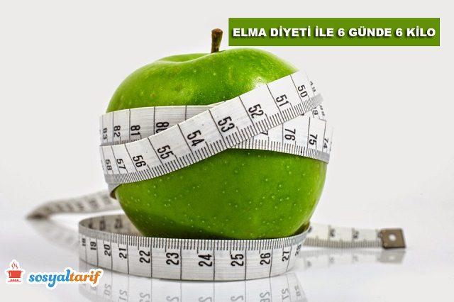 Elma Diyeti (6 GÜnde 6 Kilo)