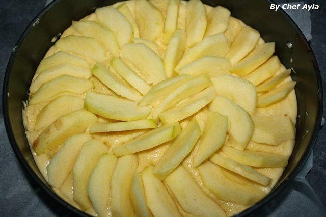 Elmalı Pasta Hazırlanışı