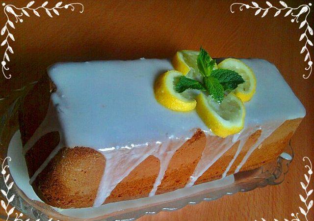 Ganajlı Limonlu Kek