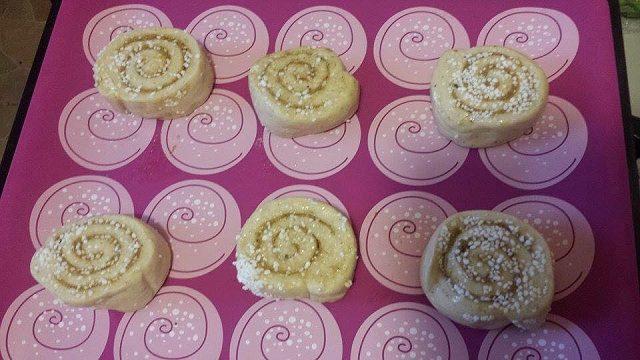 Rulo Çörek Yapımı