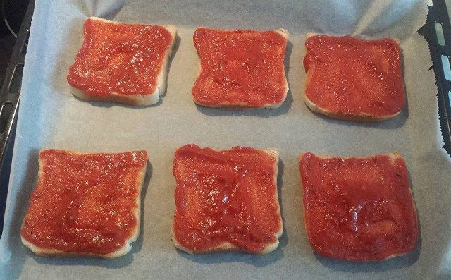 Tost Pizza Hazırlanışı