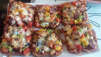 Tost Pizza Tarifi