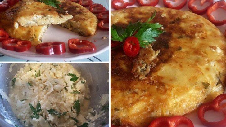Omlet Böreği Tarifi