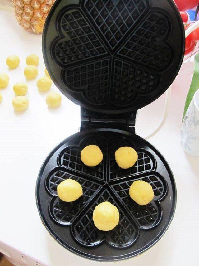 Waffle Kurabiye Yapılışı