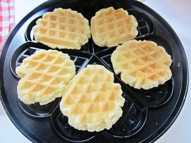 Waffle Kurabiye Yapımı