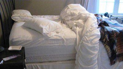 Yatağınızı Sakın Toplamayın!