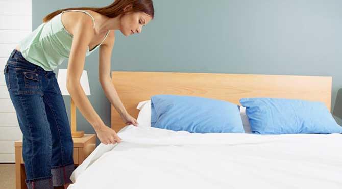 Yatağınızı Toplamayın