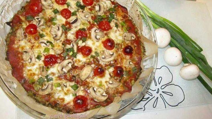 Hamursuz Pizza Tarifi