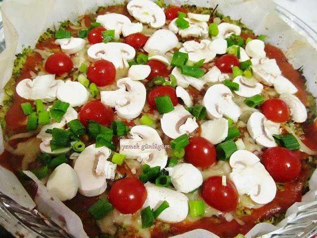 Hamursuz Pizza Yapımı