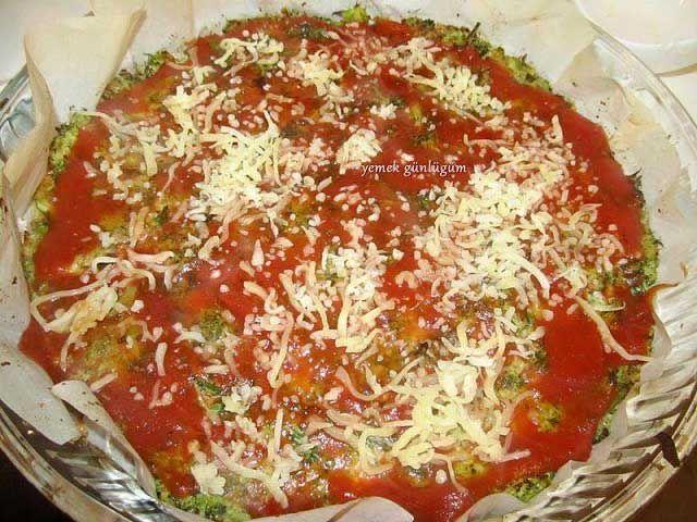 Hamursuz Pizza