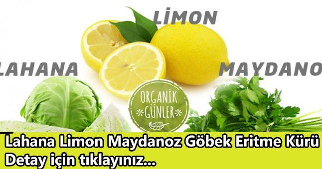 Lahana, Limon, Maydanoz ile Göbek Eritme