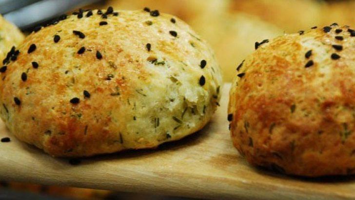 Dereotlu Peynirli Poğaça Tarifi