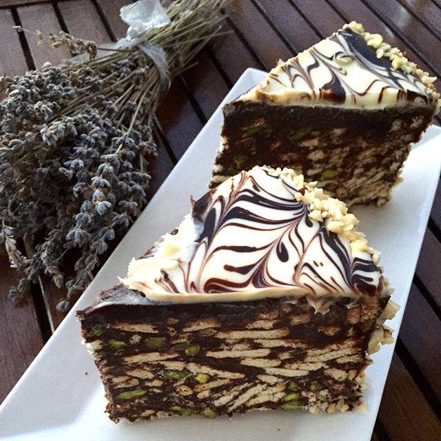Mozaik Pasta Yapımı