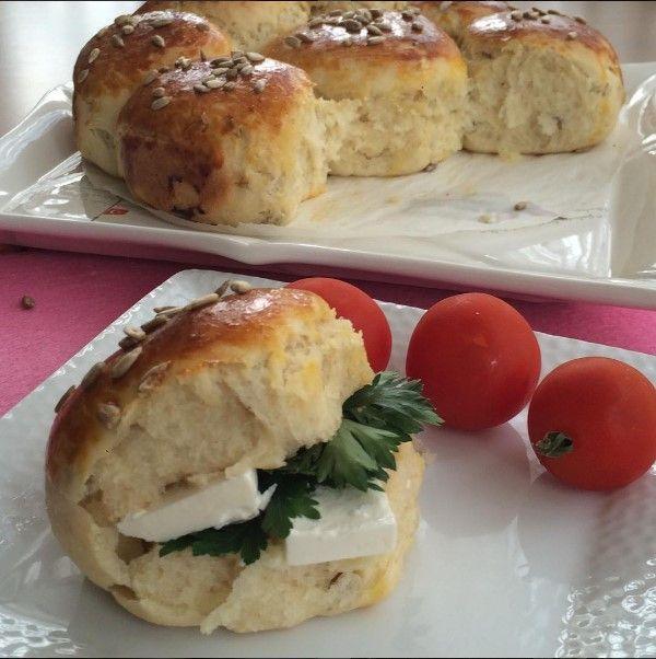 Ekmek Poğaça Tarifi