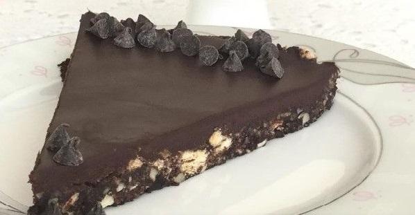 Çikolatalı Mozaik Tart Tarifi