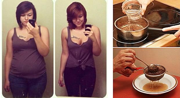 İki Malzemeli Zayıflatan Çay