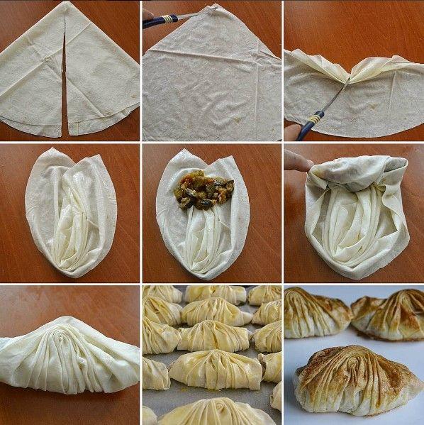 Patlıcanlı Midye Börek Tarifi