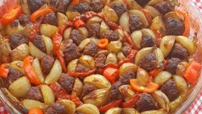 Soğan Kebabı Yapımı