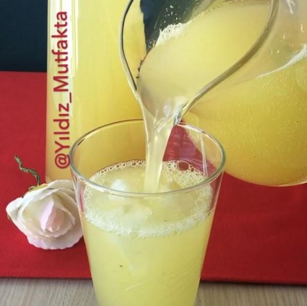 Maden Sulu Naneli Limonata Tarifi