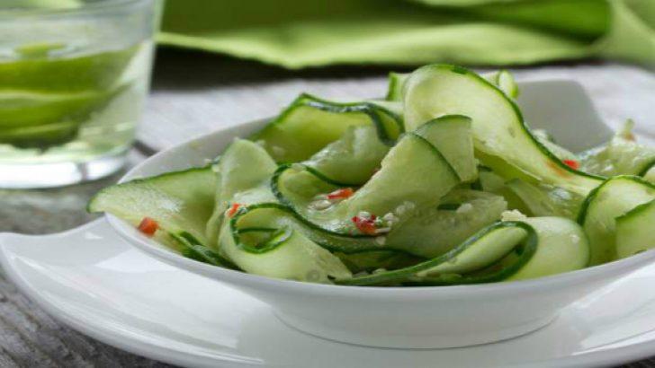 Salatalık Diyeti ile 7 Günde 7 Kilo