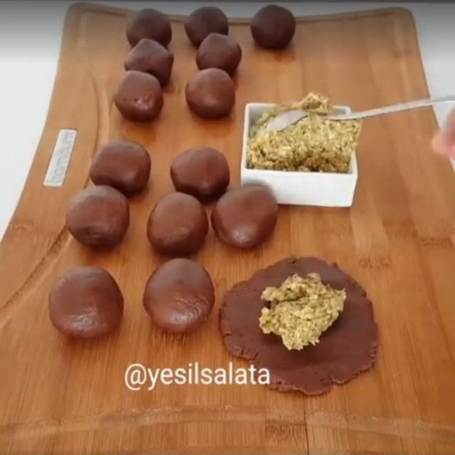 Kakaolu Kurabiye Yapımı