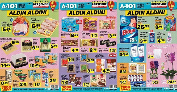 A101 23 Kasım İndirimli Ürünler