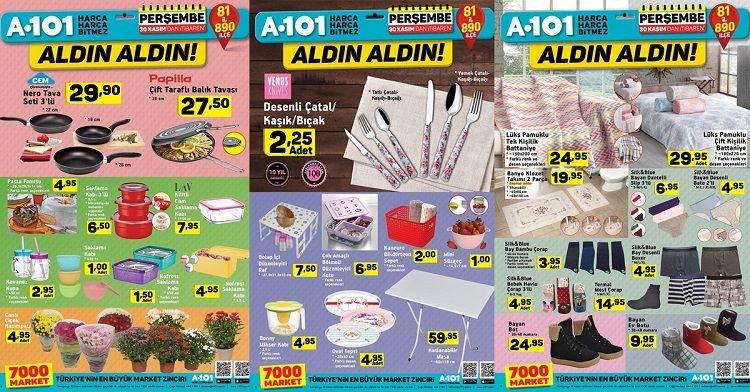 A101 30 Kasım İndirimli Ürünler