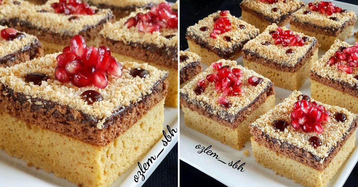 Çikolatalı Mantolu Kek