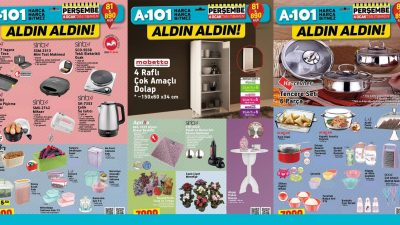 A101 4 Ocak Kataloğu