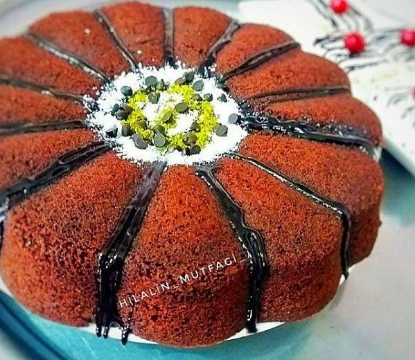 Çaylı Çikolatalı Kek