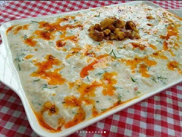 Ezme Karnabahar Salatası Yapımı